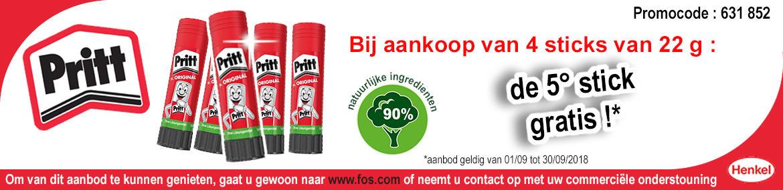 Bandeau Henkel Pritt NL
