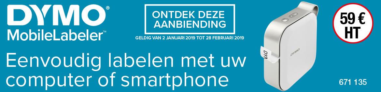 Bandeau DYMO NL - janv fev 2019