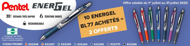 Juillet 2020 - Bandeau Pentel - FR