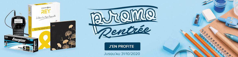 Septembre 2020 - Promo la rentrée - FR