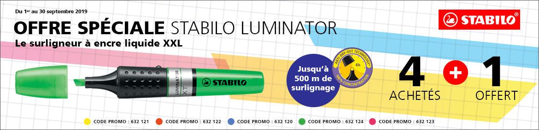 Septembre 2019 - STABILO - LU
