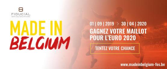 Septembre 2019 - Vignette Made in Belgium - BE