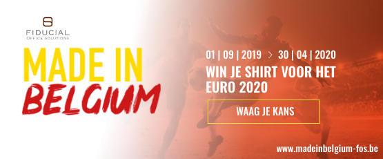 Septembre 2019 - Vignette Made in Belgium - NL