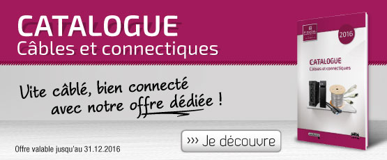 Catalogue Connectique 2016 - FR