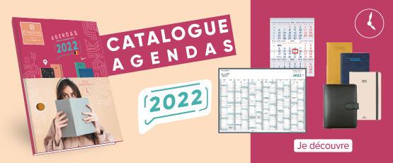Catalogue Agendas 2022 - BE FR